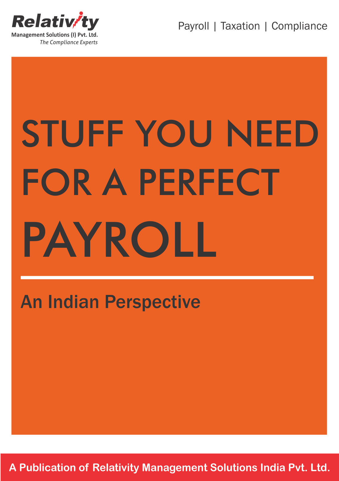 Stuff you need for a perfect payroll